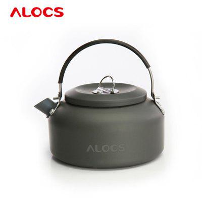 ALOCS CW - K02 Outdoor Backpack Camping Kettle Teapot Ultralight Cookware Water Pot 0.8L