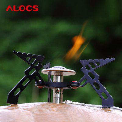 ALOCS CS - G05 Split Phenix Ultra Mini Folding Stove Gas Furnace Burner for Outdoor Cookout Backpacking