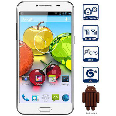 LANDVO L800 Android 4.4 3G Phablet Unlocked Phone with 5.0 inch WVGA Screen MTK6582 Quad Core 4GB ROM GPS OTG Dual Camera