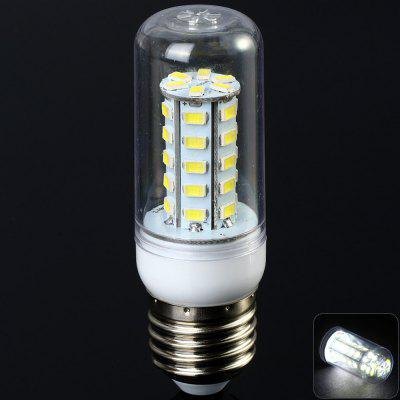 Sencart 7W E27 1200LM 36 SMD - 5730 LED Corn Bulb  -  6000 - 7500K Transparent Shell