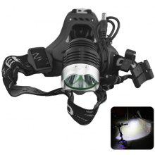 YouOKLight Cree XM - L T6 1200Lm 3 Modes Rechargeable LED Headlamp Cycling Light