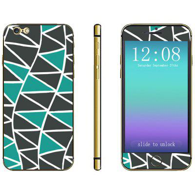 Triangle Pattern Design Phone Decal Skin Protective Full Body Sticker
