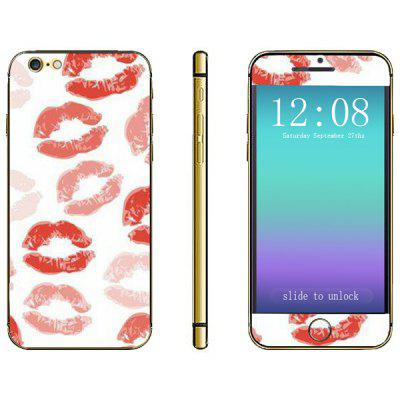 Lip Pattern Design Phone Decal Skin Protective Full Body Sticker for iPhone 6  -  4.7 inches