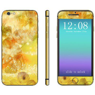 Leaves Veins Pattern Design Phone Decal Skin Protective Full Body Sticker for iPhone 6  -  4.7 inches