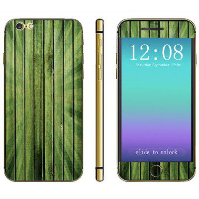 Wood Grain Pattern Design Phone Decal Skin Protective Full Body Sticker for iPhone 6  -  4.7 inches