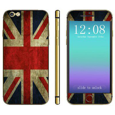 the Union Jack Pattern Design Phone Decal Skin Protective Full Body Sticker for iPhone 6  -  4.7 inches