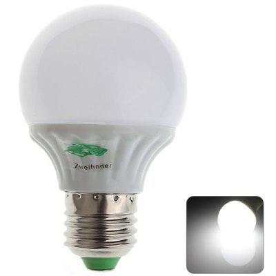 Zweihnder 3W E27 10 x SMD - 2835 LED 280Lm White Light Bulb Light (5500 - 6000K)