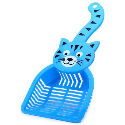 Practical Cat Sand Shovel Colander Dog Food Spade Scoop Pets Supplies