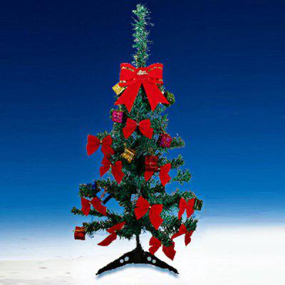 60cm Christmas Tree with Pendants Desktop Decors for Christmas Decoration