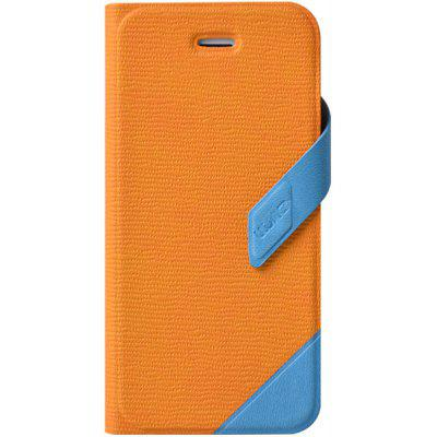 Practical Plastic and PU Cover Case with Support Function