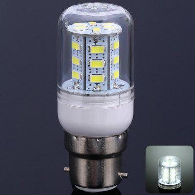 B22 10W 24 SMD - 5630 900Lm LED Bulb White Light 110V Corn Lamp (6000 - 6500K)