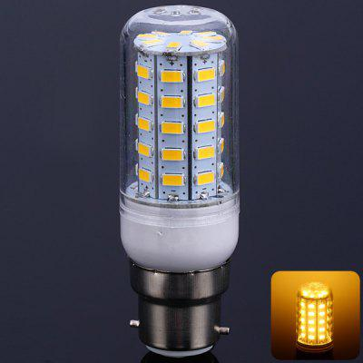 18W B22 SMD 5630 1650LM 56 - LEDs Light Transparent LED Corn Lamp (3000 - 3200K)