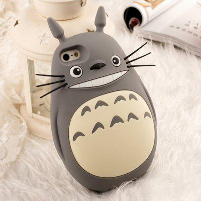 Totoro Soft Rubber Protective Cover Case for iPhone 4 / 4S