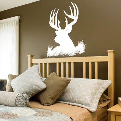 Lovely Reindeer Elk Wall Sticker DIY PVC Sticker Home Appliances Decor