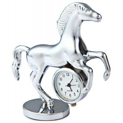 Horse Shape Watch Round Dial Stainless Steel Body