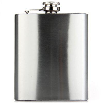 Elegant Stainless Steel 7oz Hip Flask Wine Pot Home Outdoor Necessaries