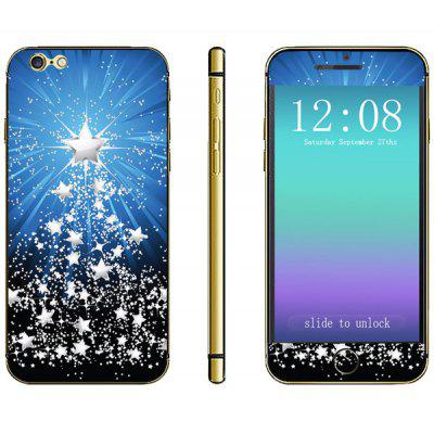 Anti - scratch Phone Sticker Decal Skin with Star Style for iPhone 6  -  4.7 inches