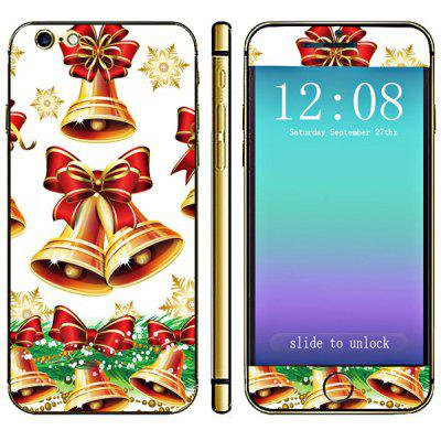 Anti - kras Phone Full Body Decal Skin met Bell strik Style voor iPhone 6-4,7 inches