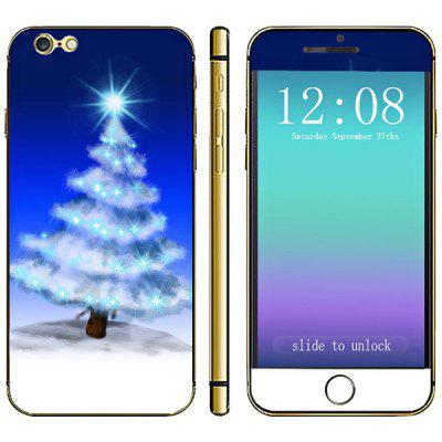 Anti - kras Cell Phone Volledige Sticker Body met kerstboom Star Style voor iPhone 6-4,7 inches