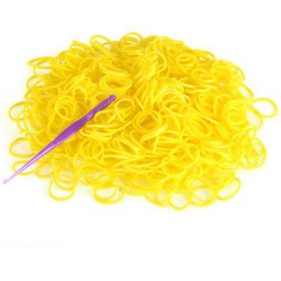 Silicone Bracelet Crazy DIY Rubber Bands 600pcs with 24 Clips