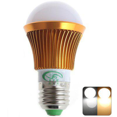 XinYiTong 12 - LEDs SMD 5630 E27 6W 500Lm Dimmable Warm Cool White Gold Bulb Light