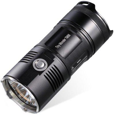Nitecore TM06 4 x Cree XM - L2 Waterproof Tiny LED Flashlight (3800LM 8 Modes 4 x 18650 Battery)