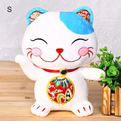 Cute New Arrival3D Lucky Cat Model Stuffed Toy Best Cat Doll Present