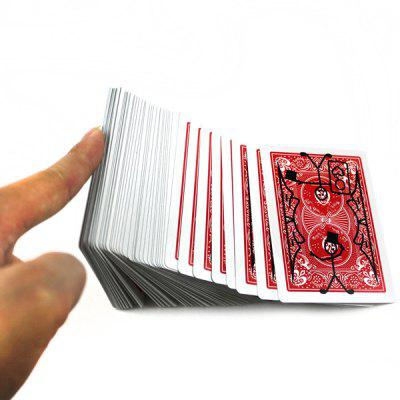 Conjuring Tricks Poker Playing Card Magic Prop Classical Toy