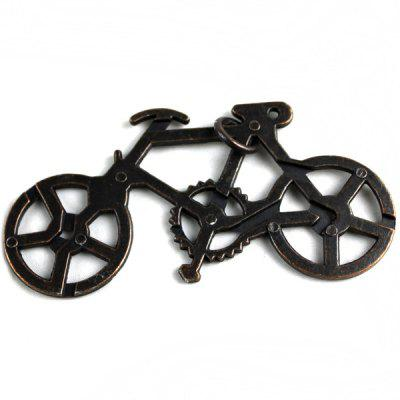 Funny Mental Bike Unlock Puzzle Toy for Puzzling Game