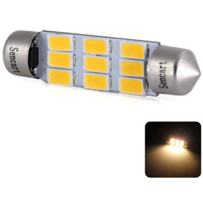 Sencart SV8.5 Double Pointed 42mm 4.5W 220lm Warm White Light Car Reading Light Decorative Light