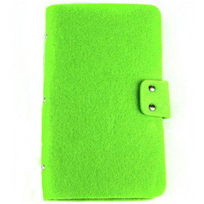 Solid Color 96 Card Position Credit Card Holder for Men Women