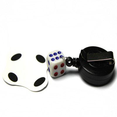 Buy WHITE Detachable Dice for Magic Show Toy for $1.26 in GearBest store