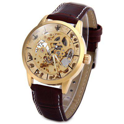stainless steel back water resistant men mechanical watch 33 69