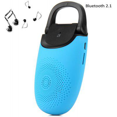 A7 Portable MIC Wireless Bluetooth 2.1 Loud Speaker Built - in Lithium Battery with Self Portrait Function for Cellphone Computer