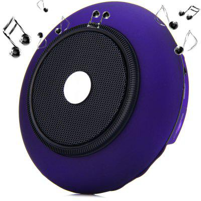 iUFO - 001 Handy UFO MIC Wireless Bluetooth Speaker Built - in Lithium Battery Support TF Card Slot