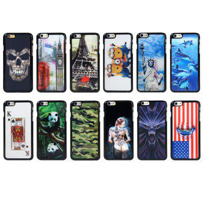 Fashionable Plastic Material Back Case Cover with 3D Vary Picture Design  -  Beauty Pattern