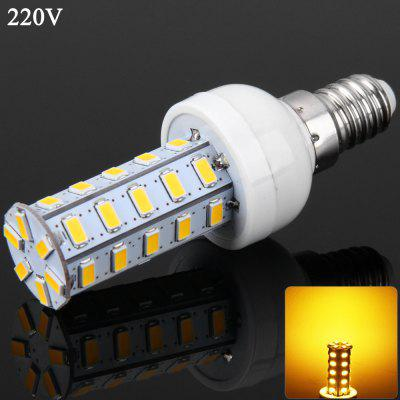 E14 SMD - 5730 36 LEDs 7W 3000 - 3500K 1000Lm Dimmable LED Corn Lamp