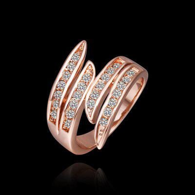 Stylish Environmental Alloy Circinate Ring For Women