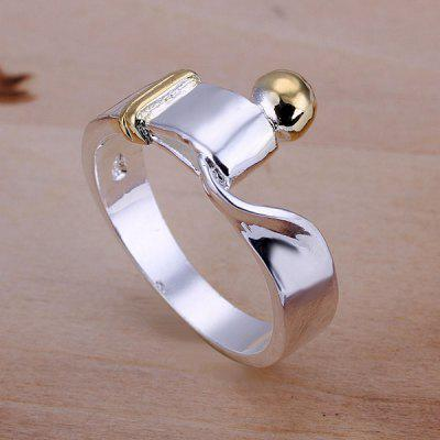 Abstract Print Ring