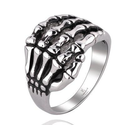 Vintage Style Skeleton Hands Shape Neutral RingRings<br>Vintage Style Skeleton Hands Shape Neutral Ring<br><br>Gender: Unisex<br>Metal Type: Stainless Steel<br>Package Contents: 1x ring<br>Shape/Pattern: Skull<br>Style: Trendy<br>Weight: 0.03KG