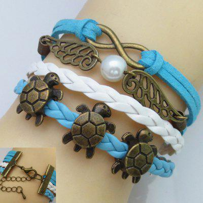 Tortoise Wing Infinity Multilayer Friendship Bracelet