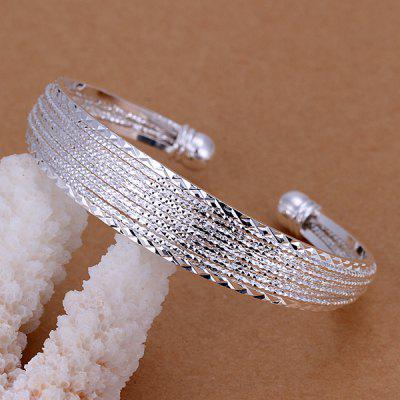 Alloy Decorative Design Cuff Bracelet