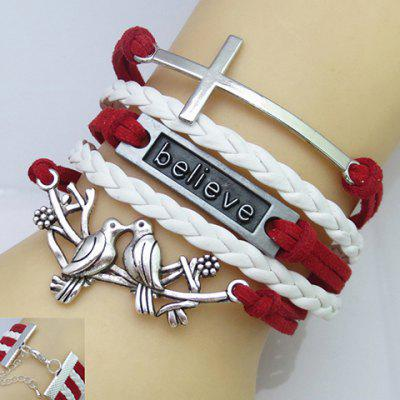 Punk Style Women's Multi-Layered Friendship Bracelet