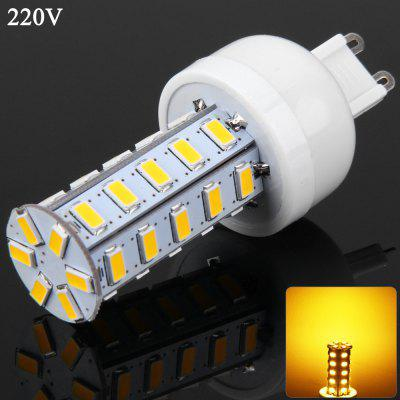 G9 SMD - 5730 36 LEDs 7W 3000 - 3500K 1600Lm Ultra Bright Dimmable Corn Lamp