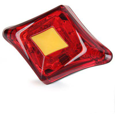 CE-1 Super Bright 2 LEDs Bicycle Rear Safety Taillight Bike Rainproof Tail Light