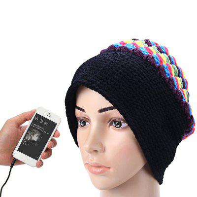 3.5mm Colorful Musical Speaker Hat Earphone Cap