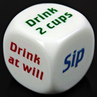 1pcs Drinking Dice Funny Game Toy