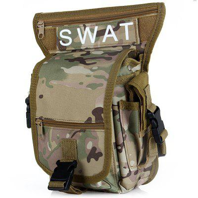Utility Multi - Layered Leg and Waist Pouch Carrier Bag for Hunting Riding Hiking