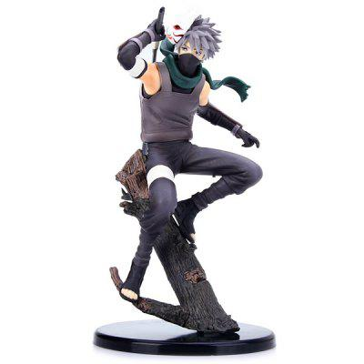 24cm Kakashi Hatake PVC Model Megahouse Naruto Shippuden Figure (Dark Side Version)