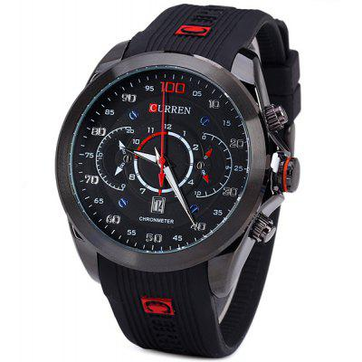 Curren 8166 Men Wristwatch Water Resistant Watch